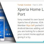「Xperia Home」 SONY以外の端末でXperiaのホームアプリを使ってみた